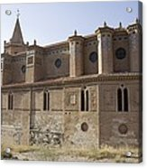 Spain. Teruel. Montalb�n. Church Acrylic Print