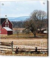 Spangler's Farm Acrylic Print by John Rizzuto