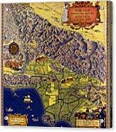 Spanish And Mexico Ranchos Acrylic Print