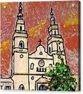 Spanish Church Acrylic Print