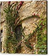 Spanish Church Wall Acrylic Print