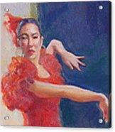 Spanish Eyes Acrylic Print by Gwen Carroll