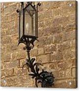 Spanish Lamp Acrylic Print