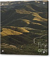 Spanish Landscape In Andalusia Acrylic Print