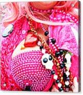 Spanish  Mardi Gras Parade Finery Louisiana Acrylic Print
