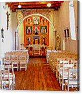 Spanish Mission Church New Mexico Acrylic Print