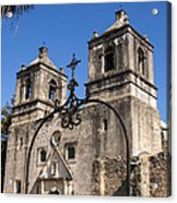 Spanish Mission Trail Acrylic Print
