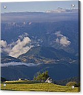 Spanish Pyrenees Acrylic Print by Frits Selier