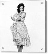 Spanish Star Carmen Sevilla. Acrylic Print