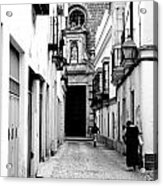 Spanish Street Acrylic Print