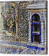 Spanish Tile Acrylic Print