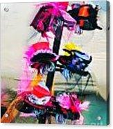 Spanish Town Parade Hats Acrylic Print