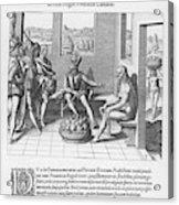Spanish Traveller Girolamo Benzoni Acrylic Print