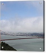 Spanning The Golden Gate Acrylic Print