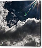 Sparkle From Above Acrylic Print