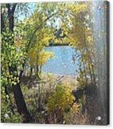 Sparkle Lake Acrylic Print
