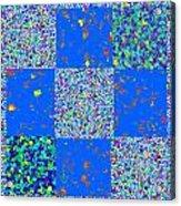 Sparkle Mandala Akaash Cosmos Pattern Bluecross Blue Cross Novino Signature   Art  Navinjoshi Artist Acrylic Print