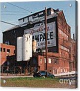 Sparkling Champale Acrylic Print