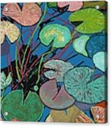 Sparkling Pond Acrylic Print