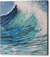 Sparkling Turquoise Acrylic Print