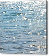 Sparkling Water Acrylic Print