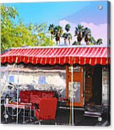 Spartan Manor Palm Springs Acrylic Print