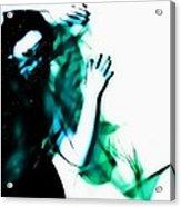 Spastic Blue Acrylic Print