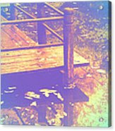 Speak Softly Autumn Reflections Acrylic Print