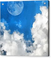Speak To The Sky Acrylic Print by Wendy J St Christopher
