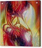 Speaking In Flames Acrylic Print