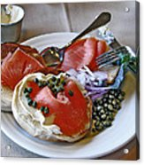 Special Birthday Breakfast Acrylic Print by Chris Anderson