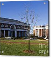 Special Collections Library And Alderman Library University Of Virginia Acrylic Print