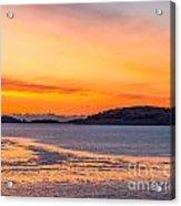 Spectacle Island Sunrise Acrylic Print