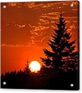 Spectacular Sunset IIl Acrylic Print