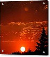 Spectacular Sunset Acrylic Print