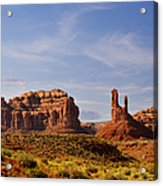 Spectacular Valley Of The Gods Acrylic Print