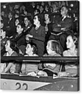 Spectators At The Circus Acrylic Print