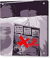 Spectators  Circus Tent Auction Adolf Hitler's 1941 Mercedes  Scottsdale Arizona 1973-2009 Acrylic Print