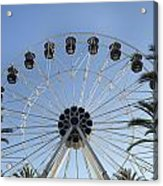 Spectrum Center Ferris Wheel In Irvine Acrylic Print