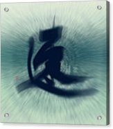 Speed - Modern Japanese Calligraphy Acrylic Print