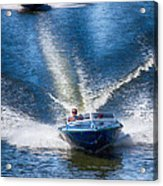 Speed On The Water Acrylic Print