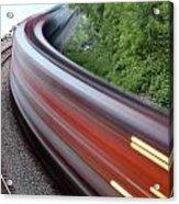 Speeding Train Acrylic Print
