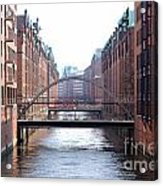 Speicherstadt Hamburg Acrylic Print