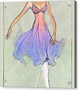 Spellbound Girl Acrylic Print