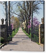 Spendthrift Farm Entrance Acrylic Print