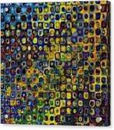 Spex Pseudo Abstract Art Acrylic Print