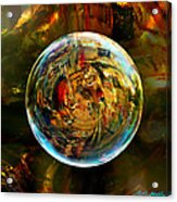 Sphere Of Refractions Acrylic Print