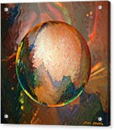 Sphering Lunar Vibrations Acrylic Print