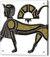 Sphinx - Mythical Creature Of Ancient Egypt Acrylic Print