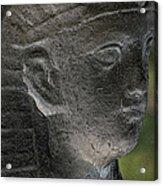 Sphinx Statue Head Grey Usa Acrylic Print